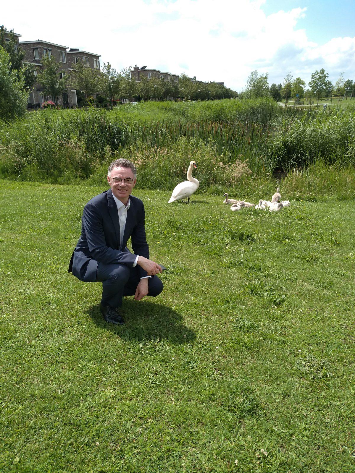 Op pad met de burgemeester van Houten